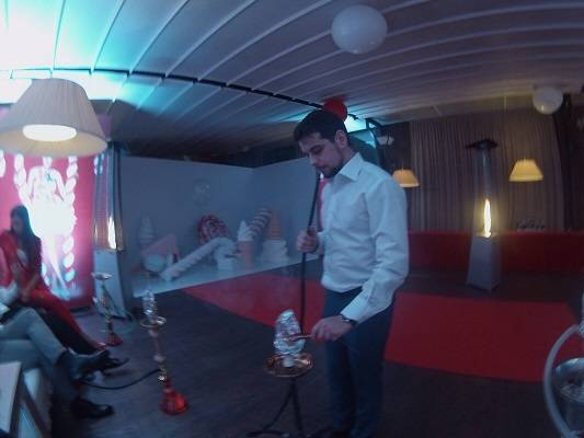 Кальяны на дне Рождения Дениса Глушакова