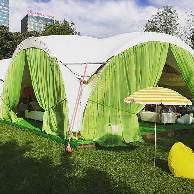 Кальянный шатер